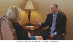 News 8 On Your Side's Stacie Schaible talks to attorney David Bulluck